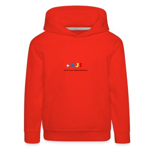 merchindising AJI - Sudadera con capucha premium niño