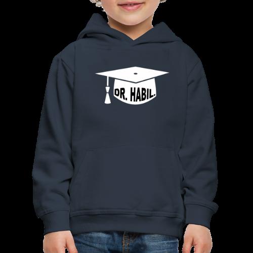 Doktorhut Professor Habilitation Geschenk - Kinder Premium Hoodie