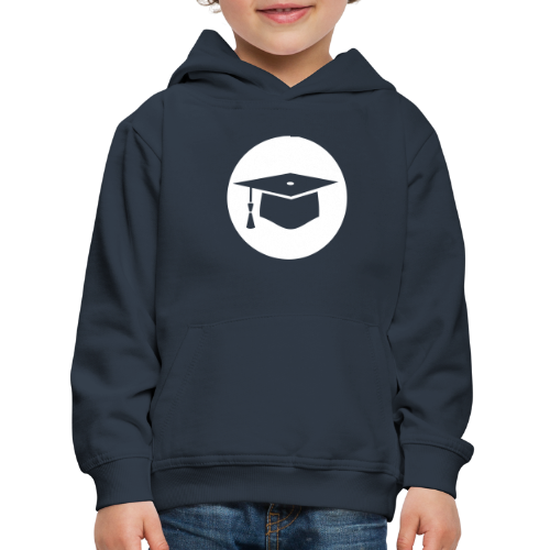 Doktorhut Kreis Geschenkidee Promotion Examen - Kinder Premium Hoodie