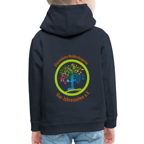 Waki Logo cmyk mitSchrift - Kinder Premium Hoodie