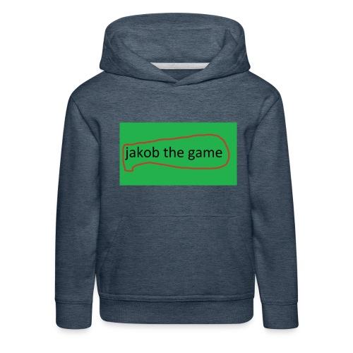 jakob the game - Premium hættetrøje til børn