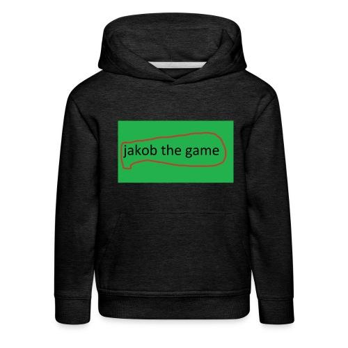 jakobthegame - Premium hættetrøje til børn