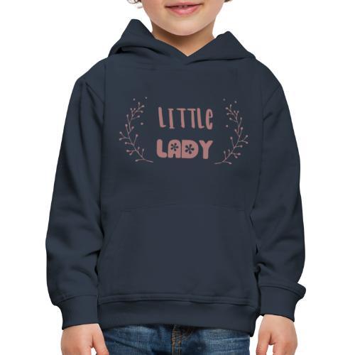 Little Lady flower - Kinder Premium Hoodie