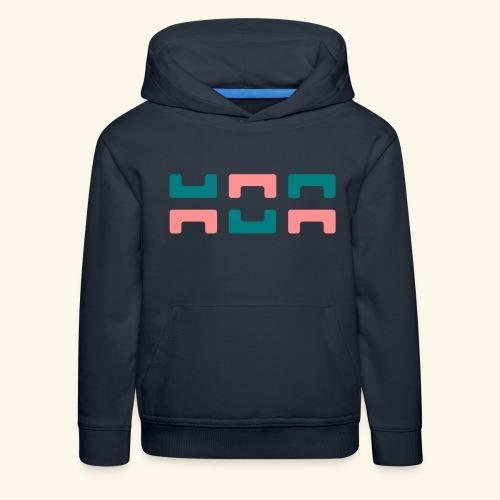 Hoa original logo v2 - Kids' Premium Hoodie