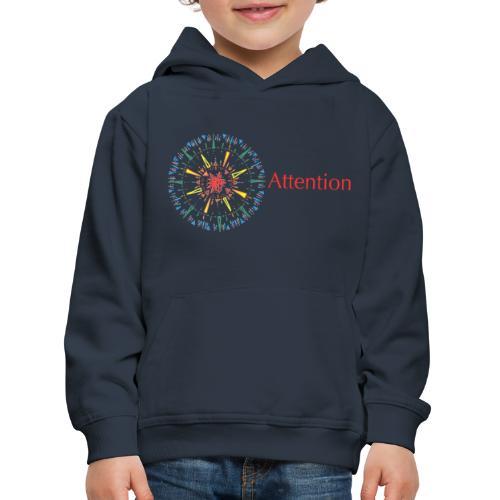 Attention - Kids' Premium Hoodie