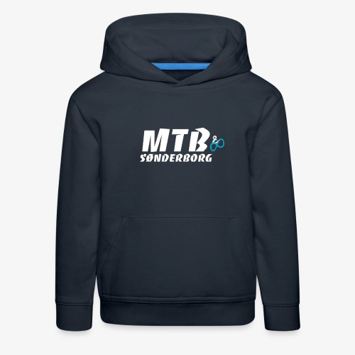 MTB Sønderborg Logo - Premium hættetrøje til børn
