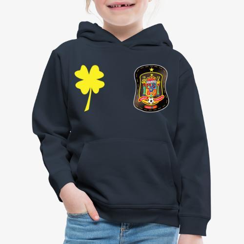 Trébol de la suerte CEsp - Sudadera con capucha premium niño