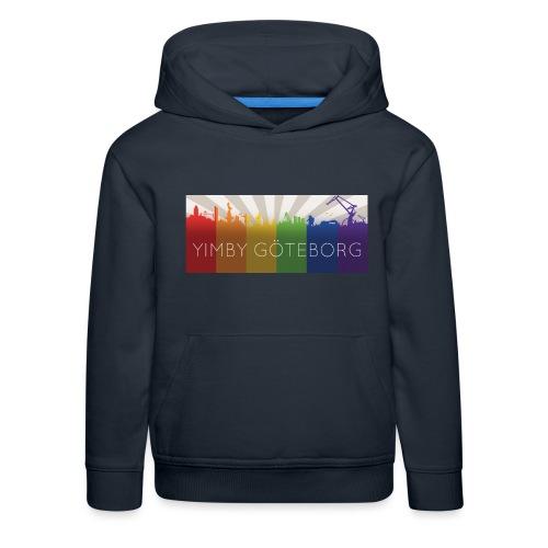 Yimby regnbågs-Tshirt - Premium-Luvtröja barn