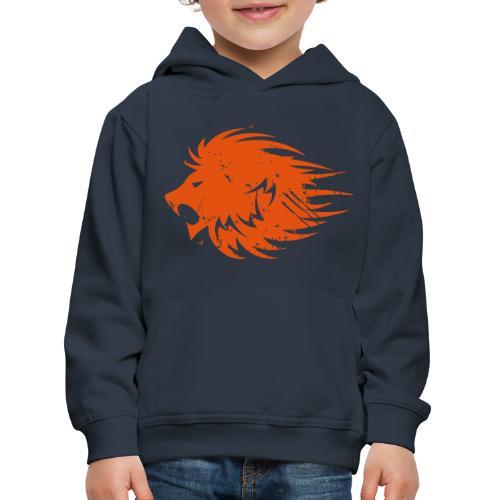 MWB Print Lion Orange - Kids' Premium Hoodie