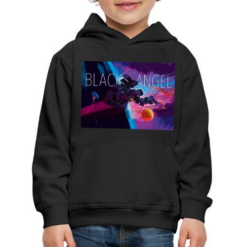 BLACK ANGEL COVER ART - Pull à capuche Premium Enfant