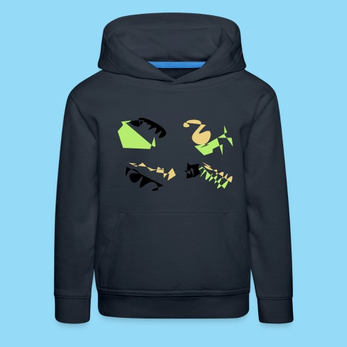 Abstracts & Colours - Kids' Premium Hoodie