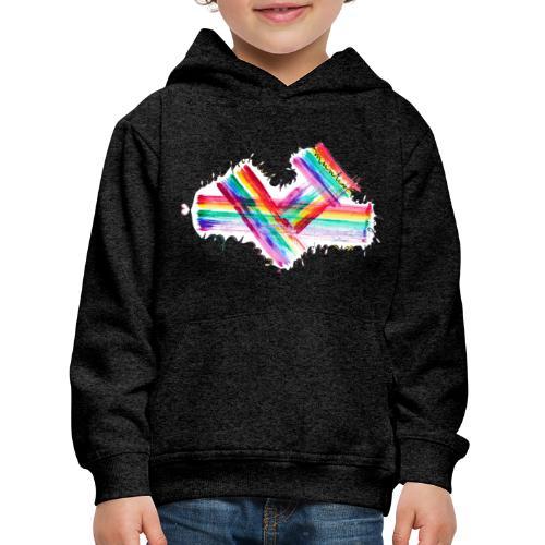 Lebe Bunter - Kinder Premium Hoodie