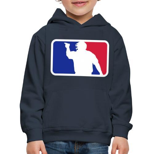 Baseball Umpire Logo - Kids' Premium Hoodie