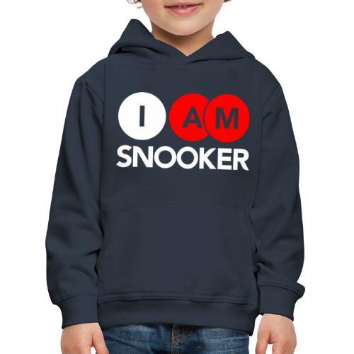 I AM SNOOKER - Kids' Premium Hoodie