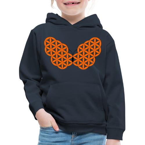 Edit The Butterfly Of Life, C03 - Sacred Animals. - Kids' Premium Hoodie