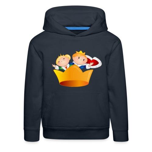 Koning Willem Alexander & Maxima - Kinderen trui Premium met capuchon