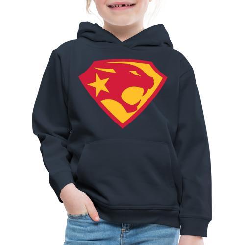 SUPER BLACK PANTHER - Kinder Premium Hoodie