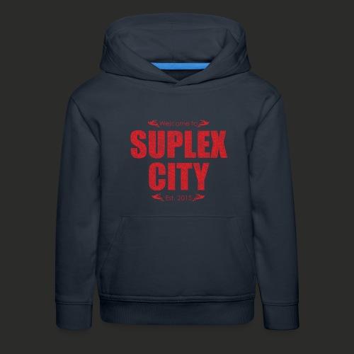 Suplex City Mens T-Shirt - Kids' Premium Hoodie