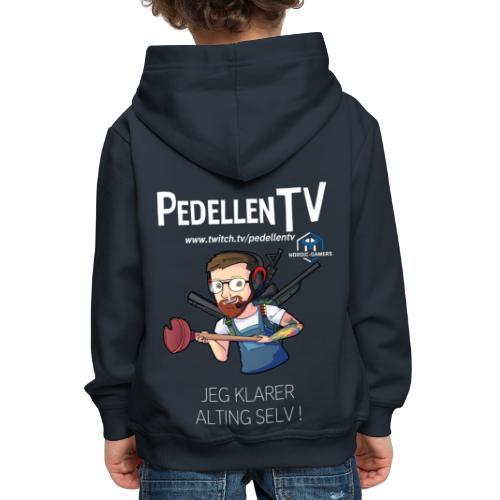 pedellentv - Premium hættetrøje til børn