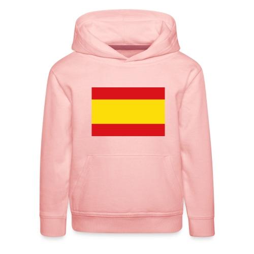 vlag van spanje - Kinderen trui Premium met capuchon