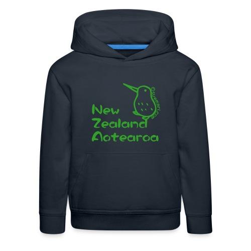 New Zealand Aotearoa - Kids' Premium Hoodie