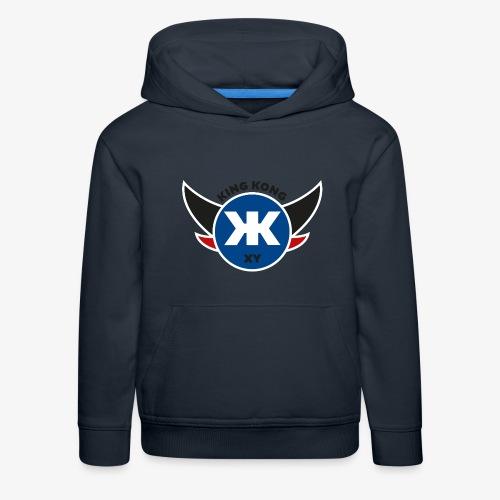 Logo KINGKONGXY Kreis - Kinder Premium Hoodie