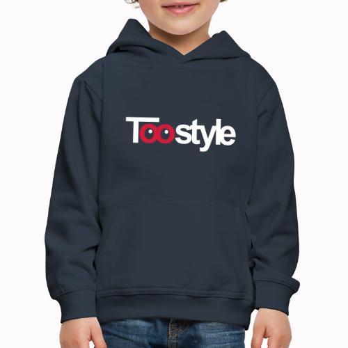 Toostyle white - Felpa con cappuccio Premium per bambini