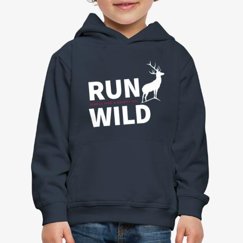 RUN WILD Temple Yard & Beauty Hill - Kinder Premium Hoodie