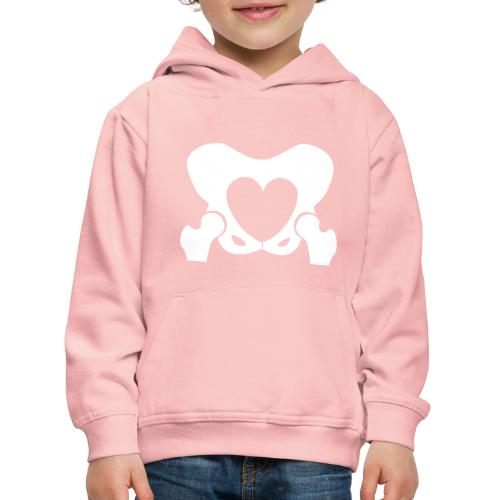 Love Your Hips Logo - Kids' Premium Hoodie