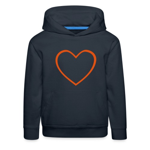 Hjärta 4 - Premium-Luvtröja barn