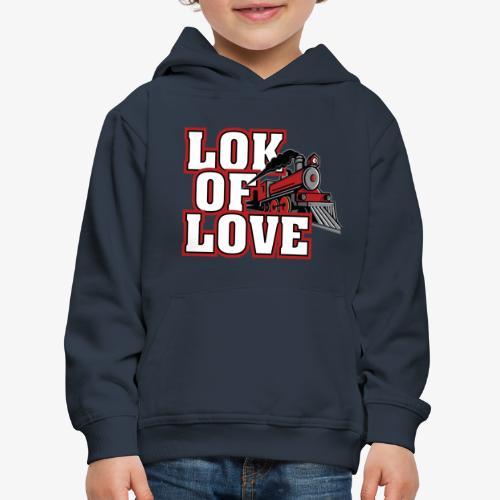 LOK OF LOVE 3 - Kinder Premium Hoodie