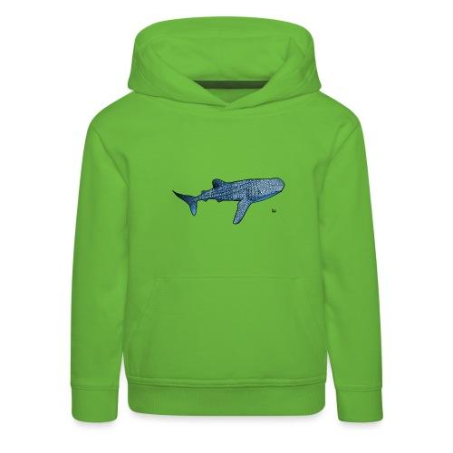 Requin baleine - Pull à capuche Premium Enfant