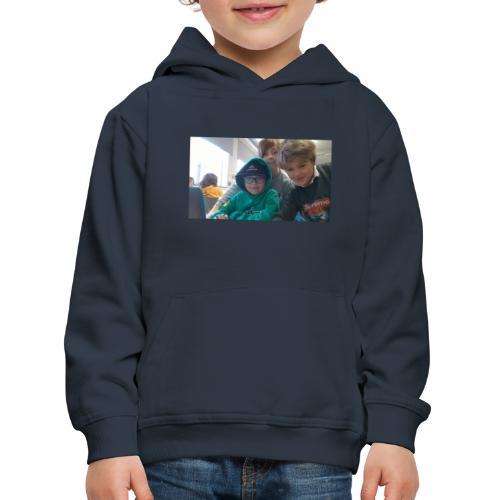 hihi - Premium-Luvtröja barn