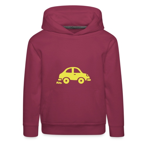 Auto (c) - Kinder Premium Hoodie