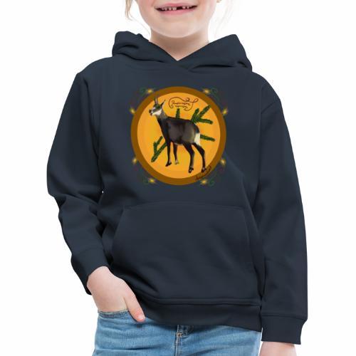 Chamois Gämse - Kinder Premium Hoodie