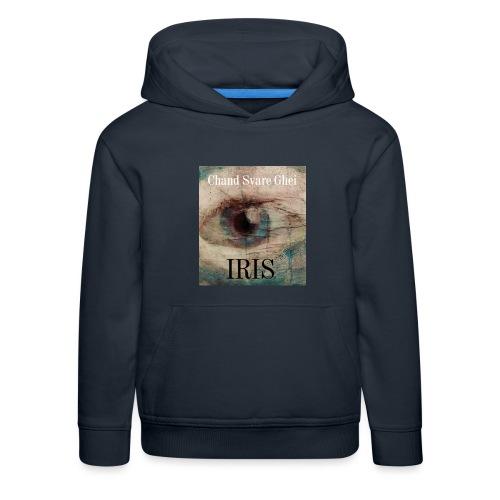 Iris - Premium Barne-hettegenser