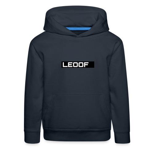 LEOOF - Kinderen trui Premium met capuchon