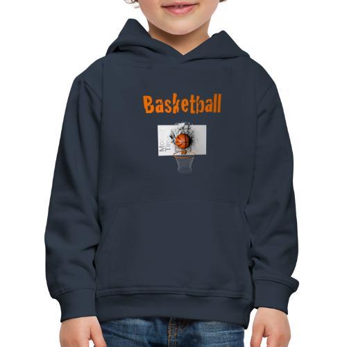 Money time BasketBall - Pull à capuche Premium Enfant