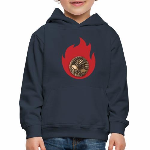 petanque fire - Pull à capuche Premium Enfant