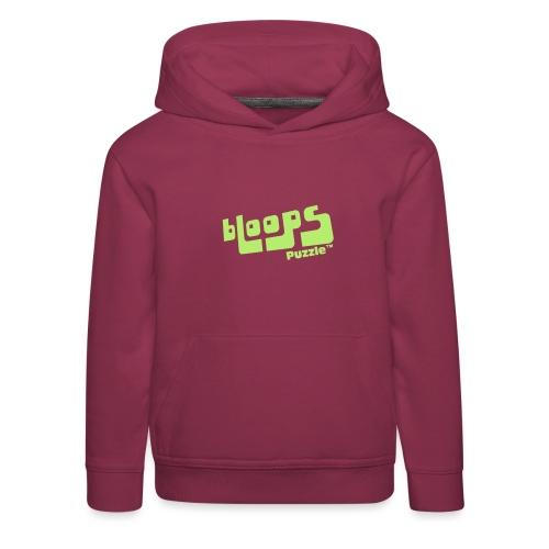 Women's Organic Tank Top bLoops Puzzle™ - Kids' Premium Hoodie