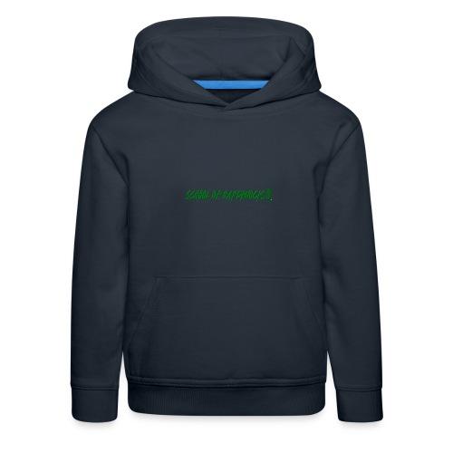 school of hardknocks ver 0 1 green - Premium hættetrøje til børn