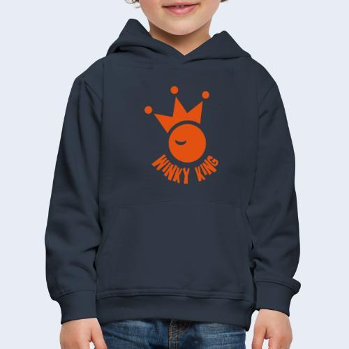 Winky King Logo - Kinderen trui Premium met capuchon