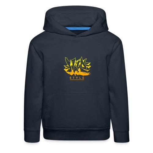 Wild Style Burner - Premium hættetrøje til børn