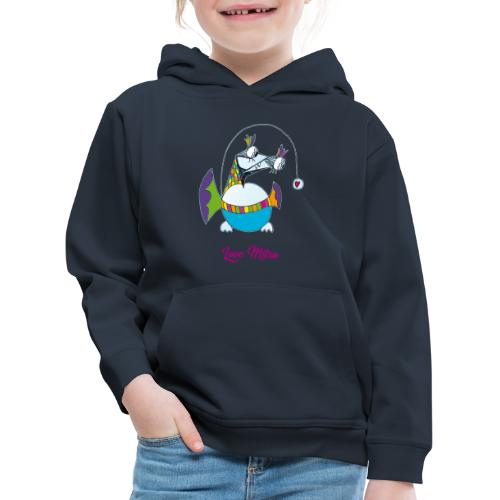 Love Mitru - Pull à capuche Premium Enfant