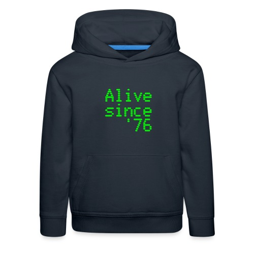 Alive since '76. 40th birthday shirt - Kids' Premium Hoodie