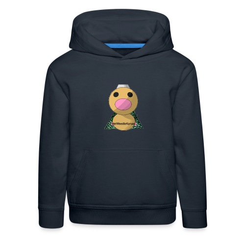 HetWeedleKanaal shirt MAAT S/M/L/XL/XXL - Kinderen trui Premium met capuchon