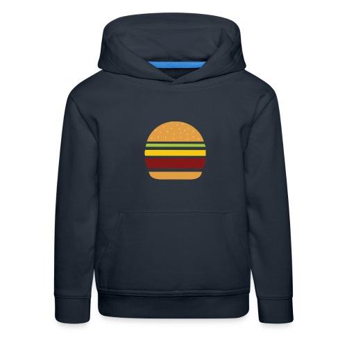 Logo Burger Panhamburger - Pull à capuche Premium Enfant