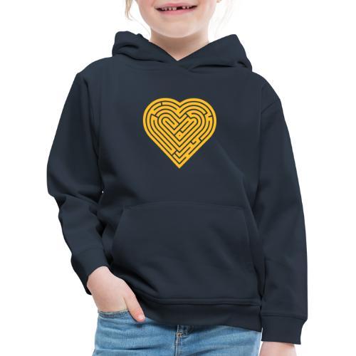 Labyrinth Heart - Kids' Premium Hoodie