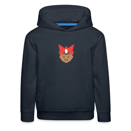 Florence the Fox | Ibbleobble - Kids' Premium Hoodie