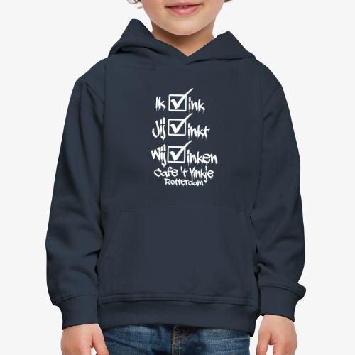 ik vink - Kinderen trui Premium met capuchon